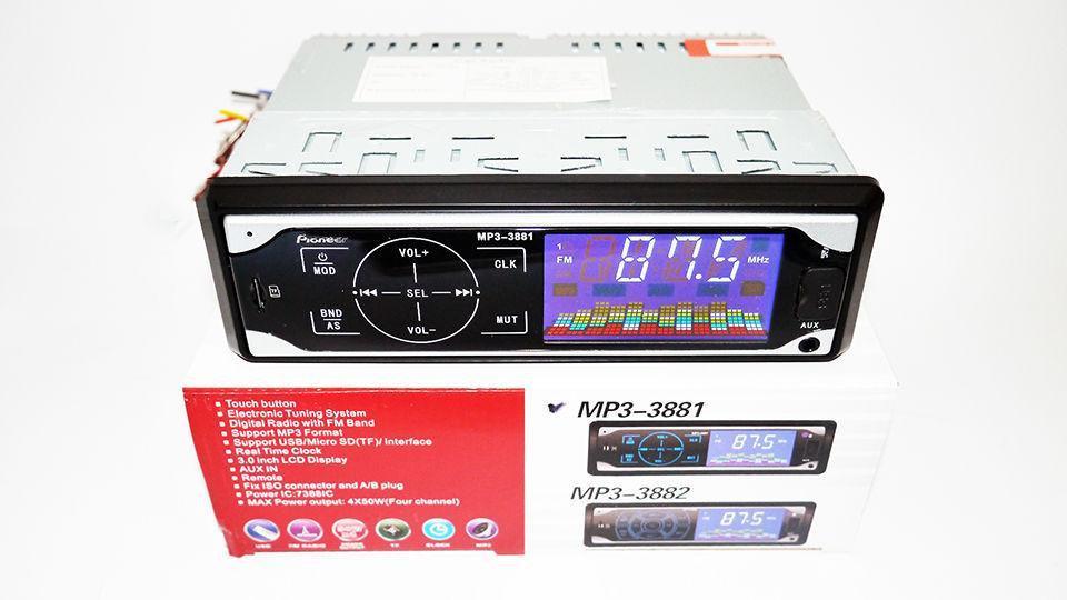 Магнитола MP3 3881 Сенсор