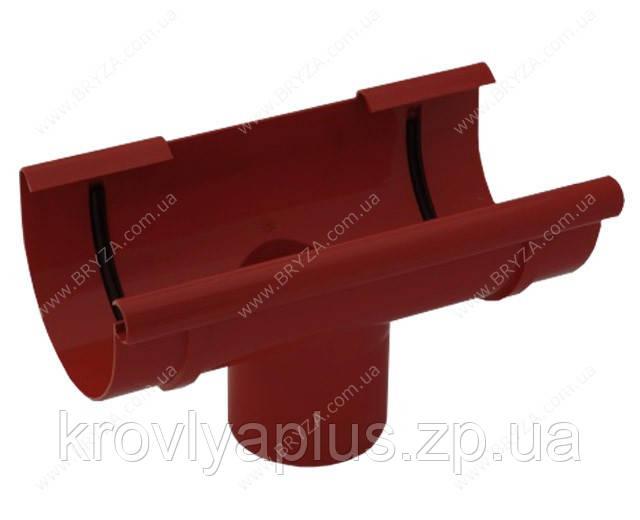 Водосточная система BRYZA 125 воронка красный