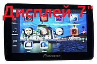 """Автомобильный GPS навигатор пионер 7"""" Pioneer 713 8Gb FM трансмиттер"""