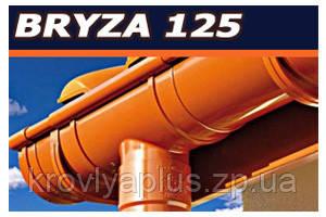 Водосточная система BRYZA 125 Заглушка желоба левая красный, фото 3
