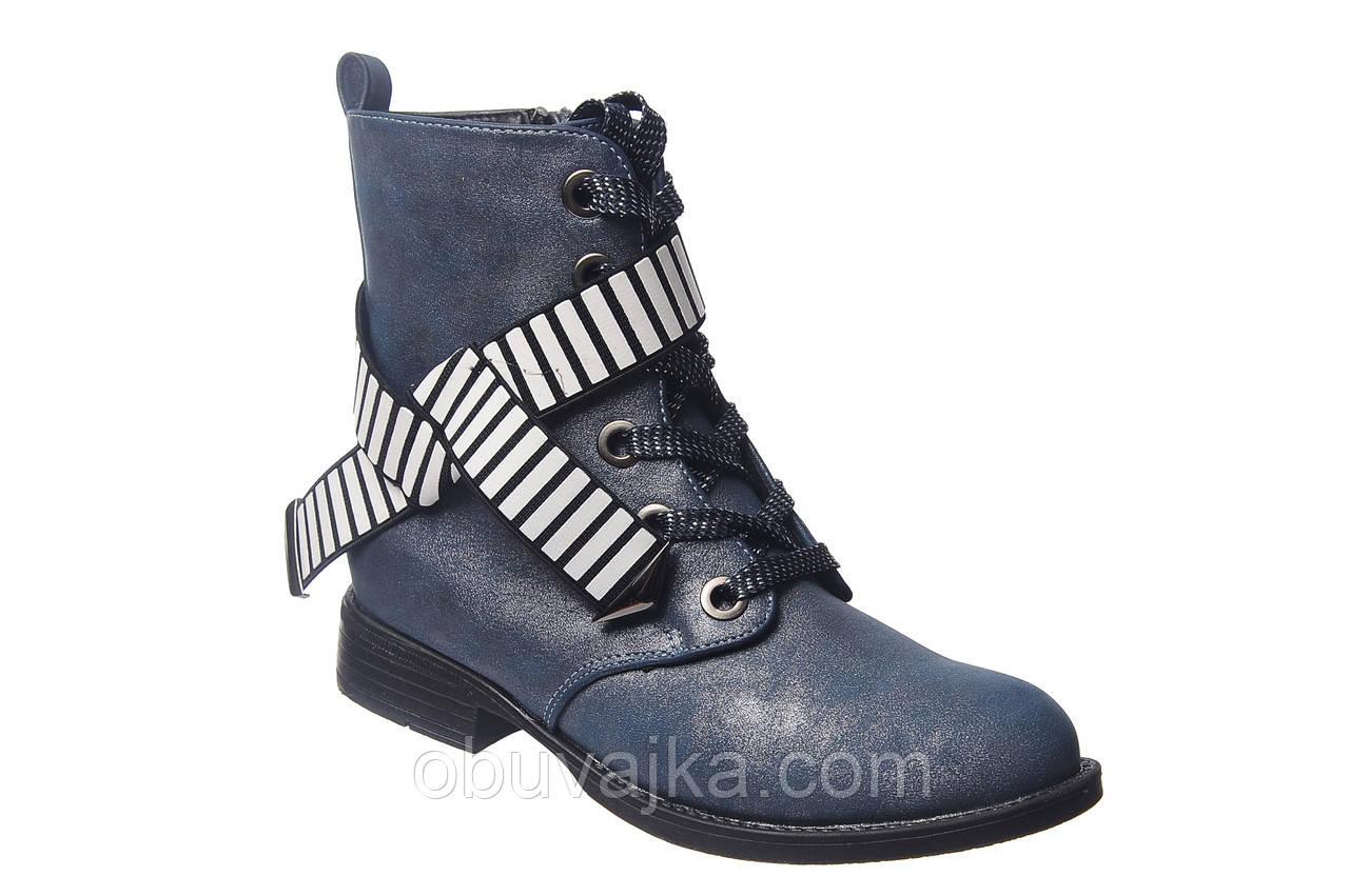 Демисезонная обувь оптом Модные подростковые ботинки оптом от фирмы Tom m(рр 32-37)