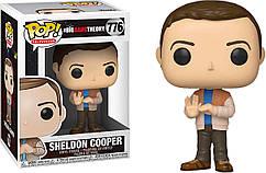 Фигурка Funko Pop Фанко Поп Шелдон Купер Теория большого взрыва Sheldon Cooper The Big Bang Theory BB SK776