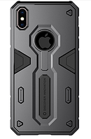 Чехол Nillkin Defender Series Armor-border iPhone Xs Max Black, КОД: 324431