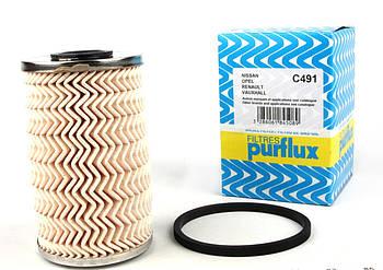 Фильтр топливный Renault Trafic/Master 1.9-3.0dCi 03- (C491) PURFLUX