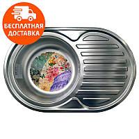 Кухонная мойка стальная Galati Eko Dana Nova Satin 7226 нержавеющая сталь