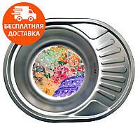 Кухонная мойка стальная Galati Eko Taleyta Textura 2232 нержавеющая сталь