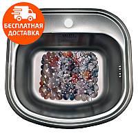 Кухонная мойка стальная Galati Vayorika Satin 7229 нержавеющая сталь