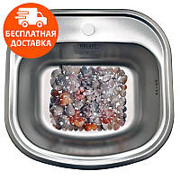 Кухонная мойка стальная Galati Vayorika Textura 7231 нержавеющая сталь