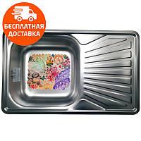 Кухонная мойка стальная Galati Constanta Textura 7139 нержавеющая сталь