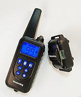 Ошейник электронный P-880 WODONDOG 800м. водонепроницаемый для дрессировки собак аккумулятор от USB, фото 1