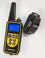 Электронный ошейник P-880  800м. водонепроницаемый для дрессировки собак аккумулятор от USB, фото 1