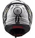 Мотошлем Женский Ls2 FF353 Rapid Boho (White Black Pink), фото 6