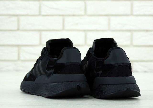 Кроссовки Adidas Nite Jogger Triple Black фото