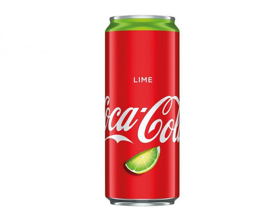 Прохладительный напиток Coca-Cola Lime 0.33 l