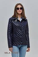Куртка короткая демисезон стеганая ML синяя