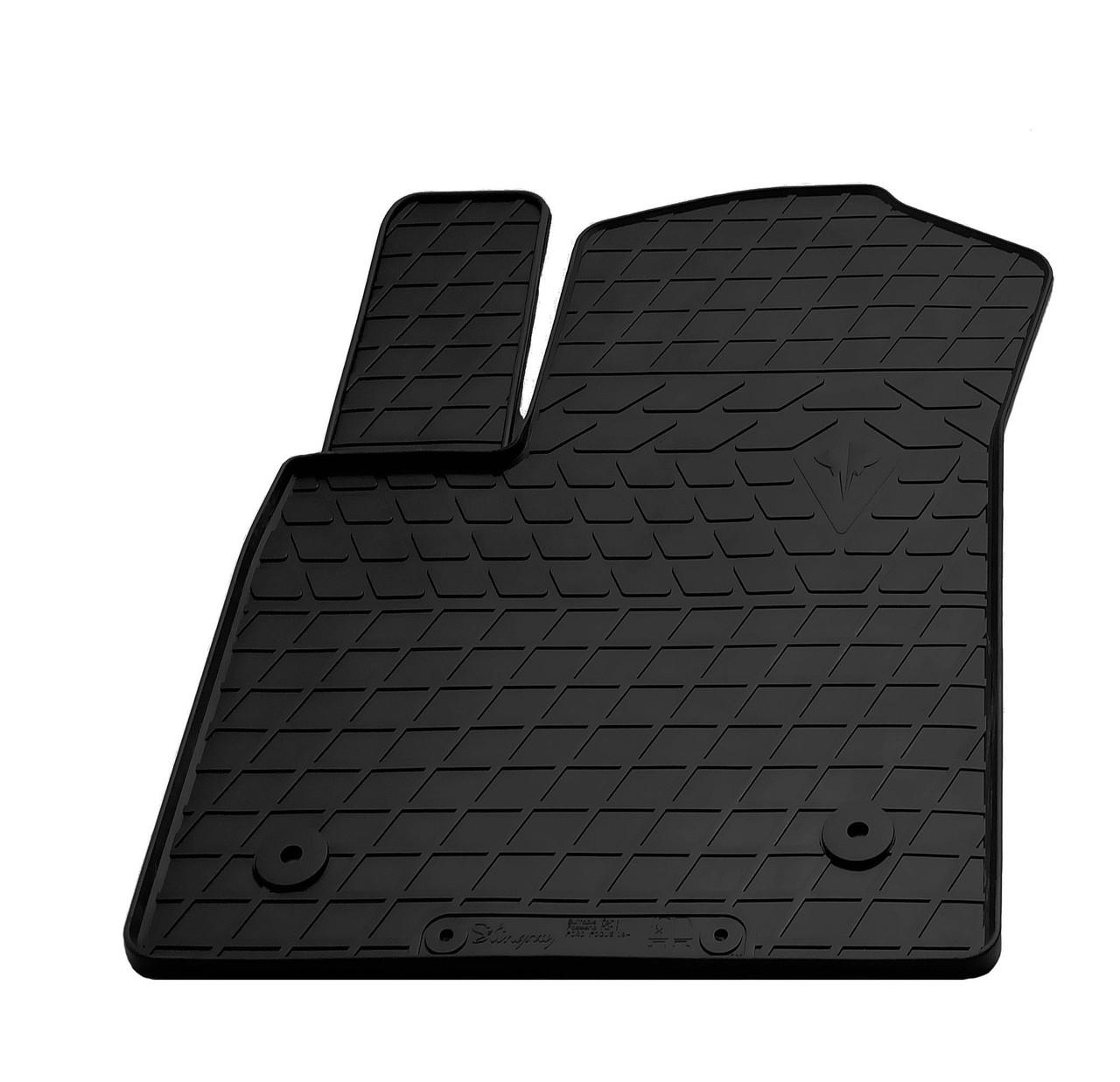 Водительский резиновый коврик для Ford Focus IV 2018- Stingray