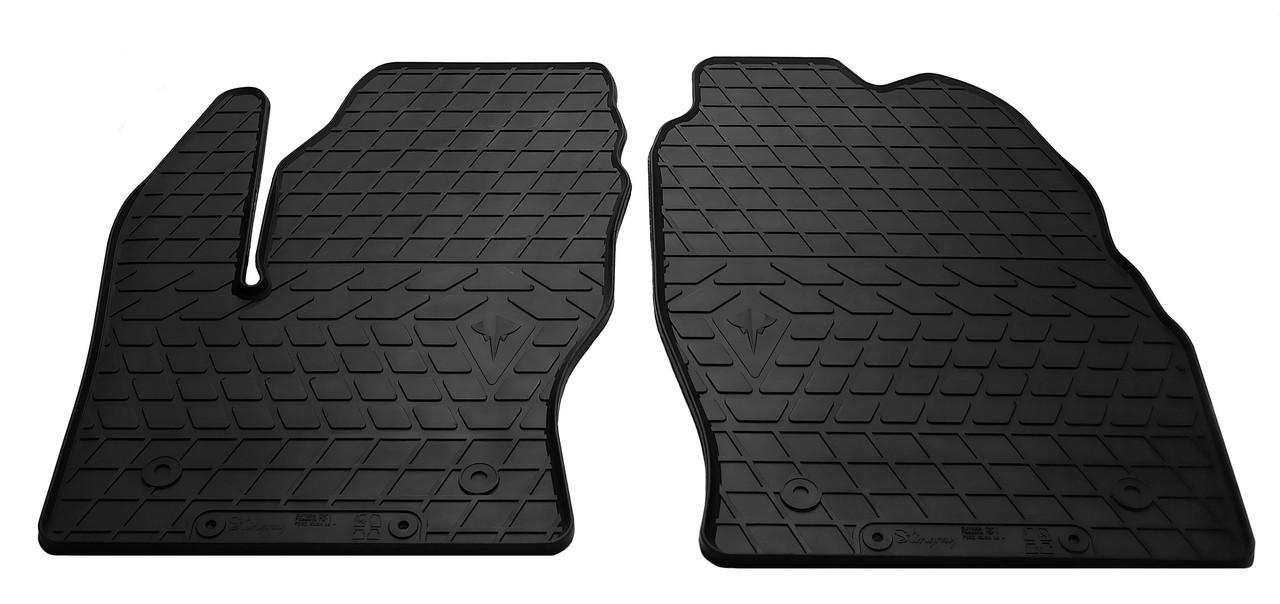 Коврики в салон резиновые передние для Ford Escape 2013- Stingray (2шт)