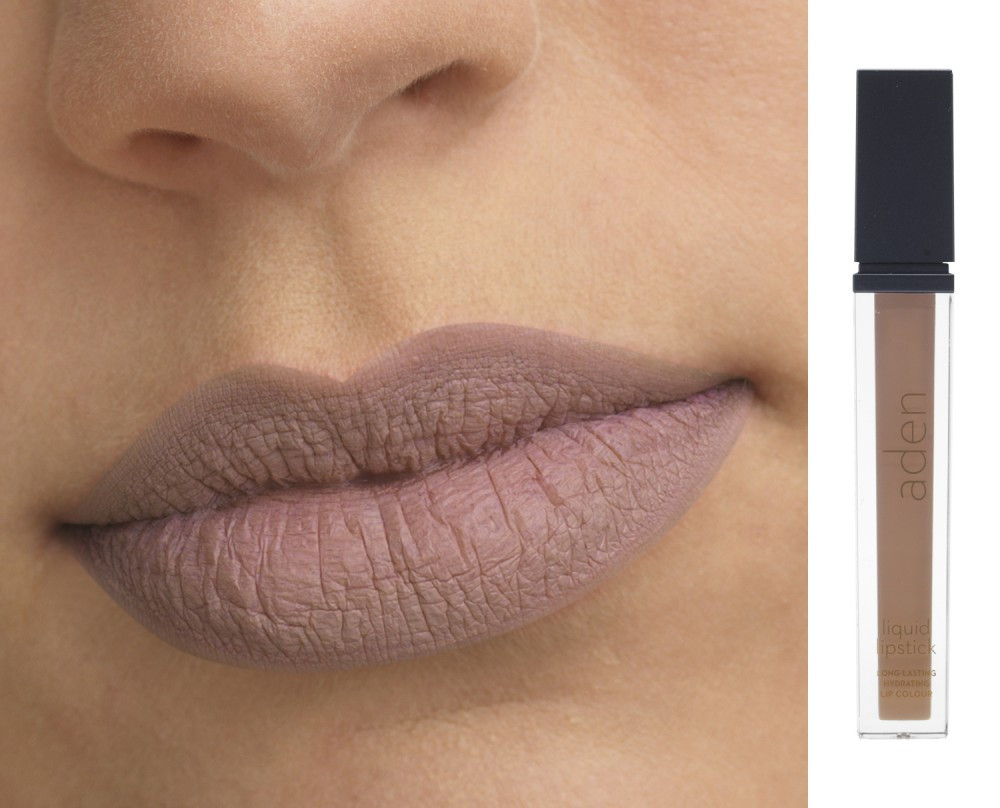 Жидкая матовая помада Peachpuff №15, 7 мл Aden Cosmetics Liquid Lipstick