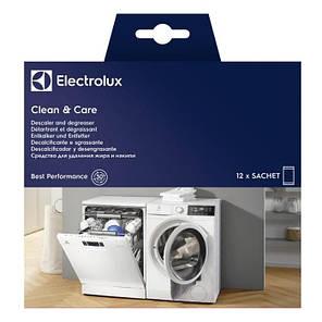 Засіб для видалення жиру і накипу Electrolux (12 пакетиків, Італія), фото 2