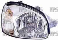 Фара передняя для Hyundai Santa Fe '01-06 правая (DEPO) механическая/под электрокорректор