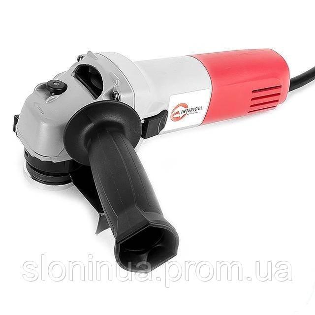 Углошлифмашина 125 мм, 630 Вт Intertool DT-0263