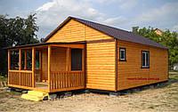"""Как построить недорогой дачный домик """"от А до Я"""""""