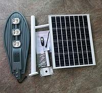 Уличный светильник на солнечной батарее, 60Вт 6500К, фото 1