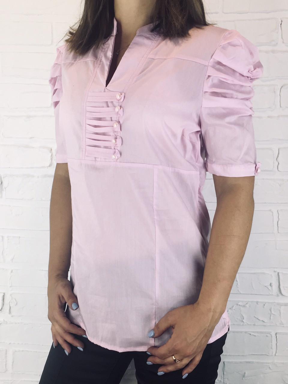 Сорочка жіноча рожева К-0209