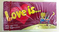 Жувальна гумка Love is... вишня і лимон 100 штук, фото 1