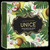 Натуральне мило з олією авокадо Unice, 100 г