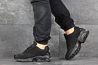Кроссовки Nike Air Max 2 мужские, темно-синие, в стиле Найк Аир Макс, нубук, замша, текстиль, код SD-8157