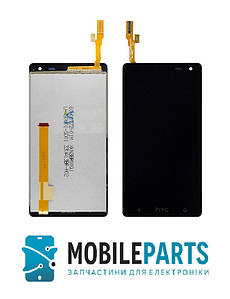 Дисплей для HTC 601 Desire | 601 Dual Sim c сенсорным стеклом (Черный) Оригинал Китай
