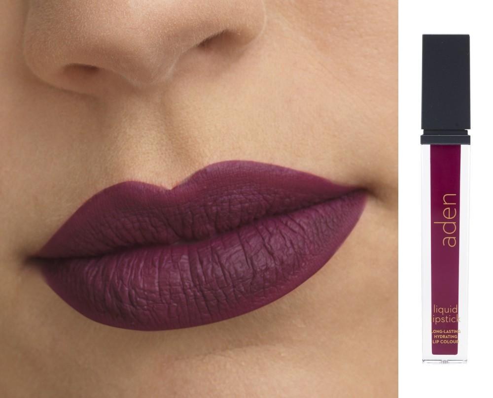 Жидкая матовая помада Medusa №27, 7 мл Aden Cosmetics Liquid Lipstick
