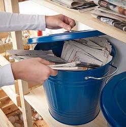 Корзины для сортировки отходов