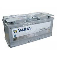 АККУМУЛЯТОР 6СТ-105A VARTA SILVER DYNAMIC START-STOP PLUS AGM H15 (605901095),12V,105AH (-/+) ВАРТА, 12В, 105А