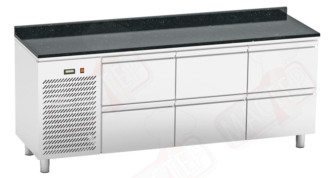 Холодильные столы Orest RTSG-6/7 2000x700