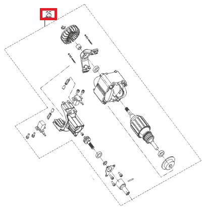 Электродвигатель для AL-KO BC 1200 E