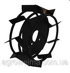 Колеса з грунтозачепами Ø380 × 150 (Zirka-105) (без втулки)