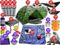 22пр. 5-ти местная туристическая палатка Hubba Green намет | аналог AbarQs в наборе (карематы,гамаки и д.р.)