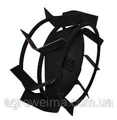 Колеса з грунтозачепами Ø380 × 150 (Zirka-41, «Салют») (Ø-34,5)
