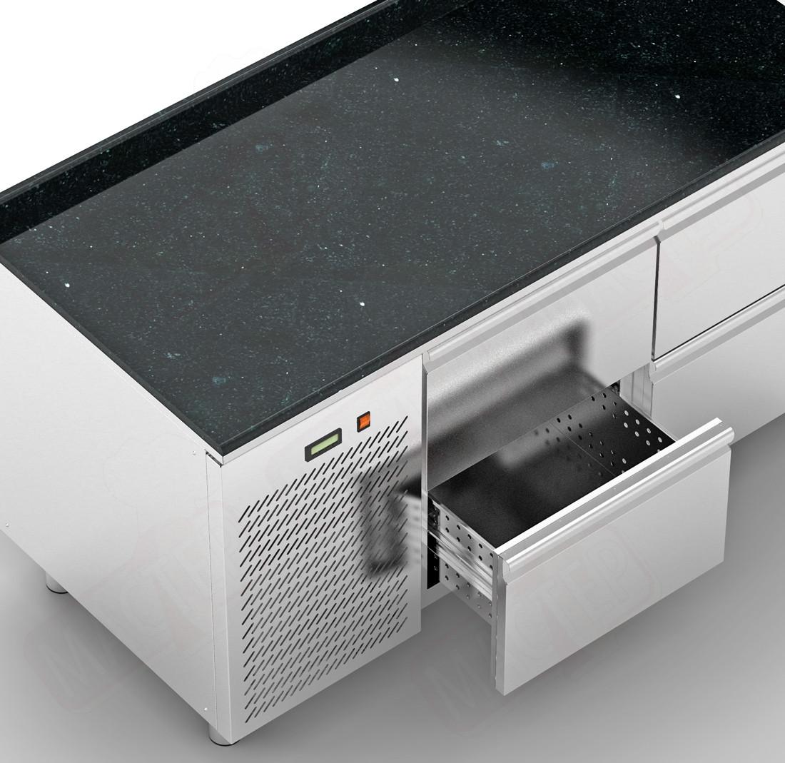 Холодильные столы Orest RTSG-6/6 2000х600
