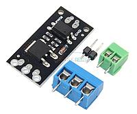 Модуль полевого транзистора c опторазвязкой 100В 8.4А FR120N
