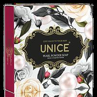 Натуральне мило з перлинною пудрою Unice, 100 г