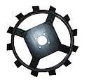Колеса з грунтозачепами Ø560 × 130 (Zirka-105, «Зубр») (без втулки), фото 2
