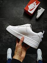 """Кроссовки Nike Air Force 1 """"Белые"""", фото 2"""