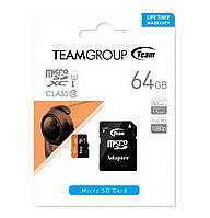 Карта памяти Team 64 GB class 10