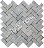 Мозаичная плитка Стар.Валт. МКР-5СВ (47х23) 6 мм White BI