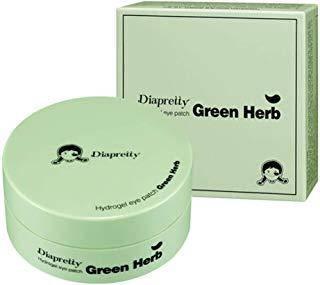 Гидрогелевые патчи c экстрактами зеленых трав Diapretty Hydrogel eye patch green herb, 60 шт, фото 2