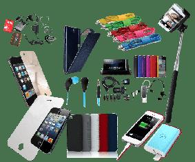 Кабеля для зарядки и мобильные аксессуары
