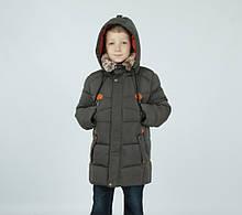 """Зимова подовжена куртка для хлопчика """"Жанлука"""" KIKO"""